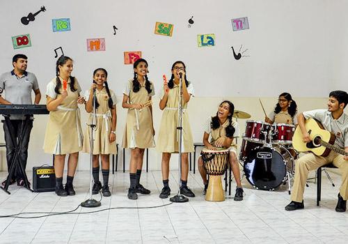Suchitra Academy Music Rooms