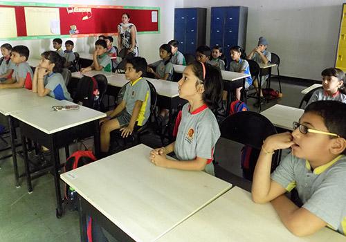 Suchitra Academy Classroom